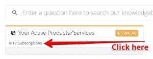 click iptv subscriptions box