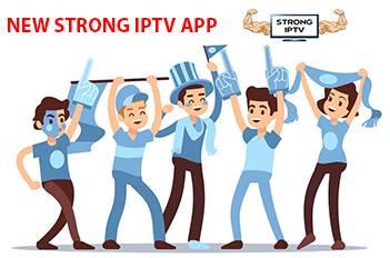 new strong iptv app