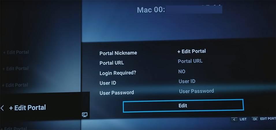 Formuler z7+ Setup portal