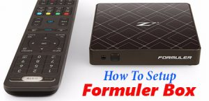 Setting up a Formuler box