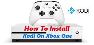 installing kodi and kodi build on xbox one
