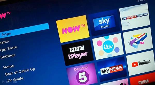 install iptv now tv box