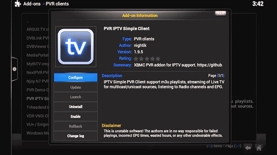 pvr simple client now tv box