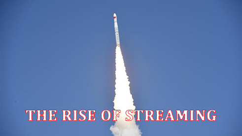 streaming on the rise