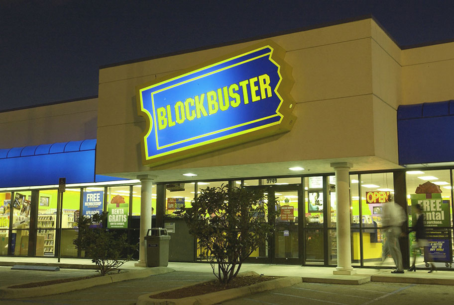 the fall of blockbuster
