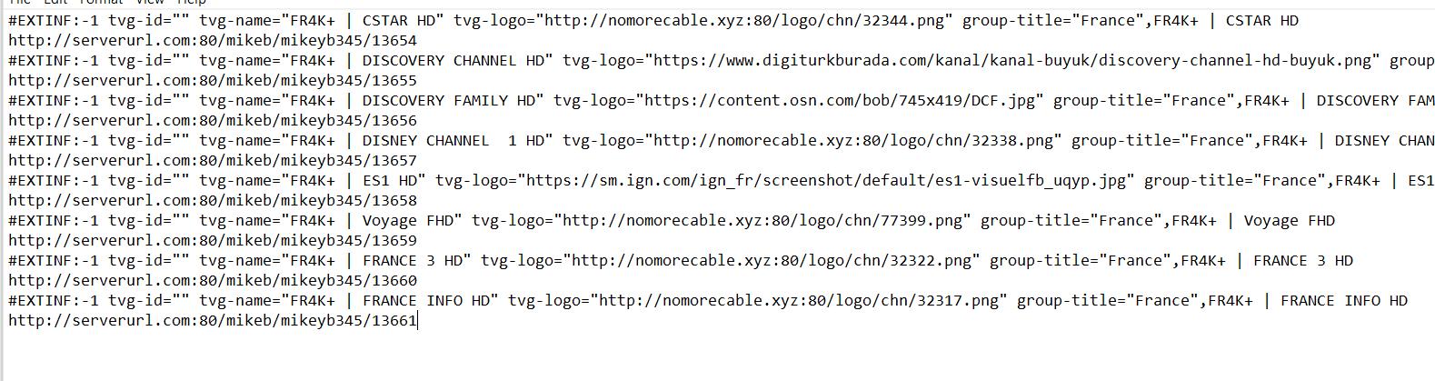 m3u iptv playlist example