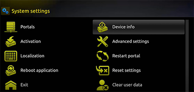 smart stb device info