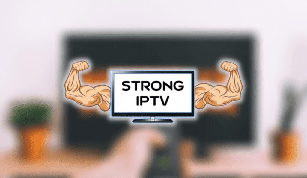 strong iptv app screen 1