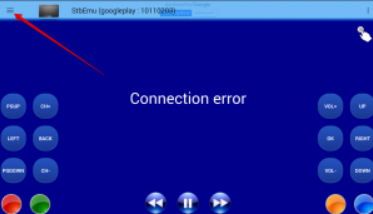 connection error stb emulator for android