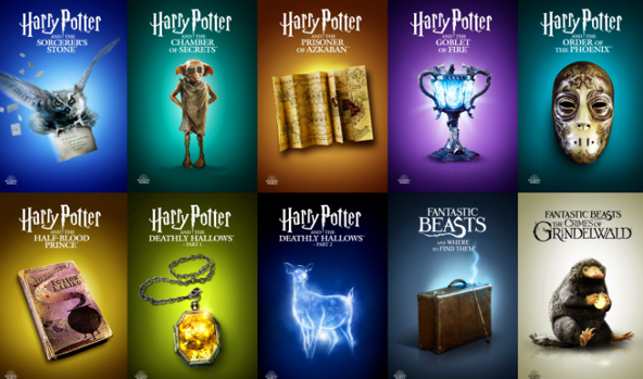 itunes harry potter movies
