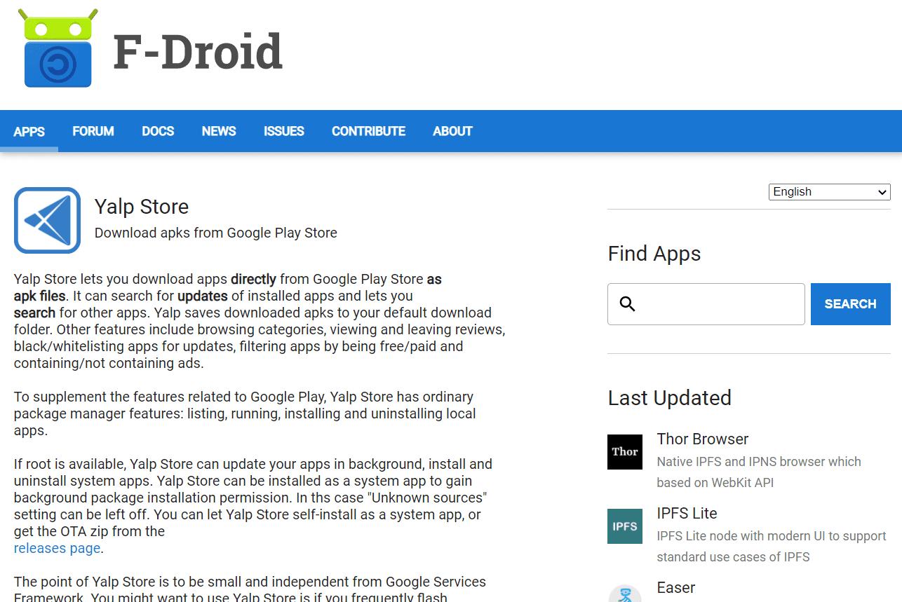 yalp store cracked google play store